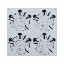 White & Black Double Side Depth-control PCB Board for Security Devices