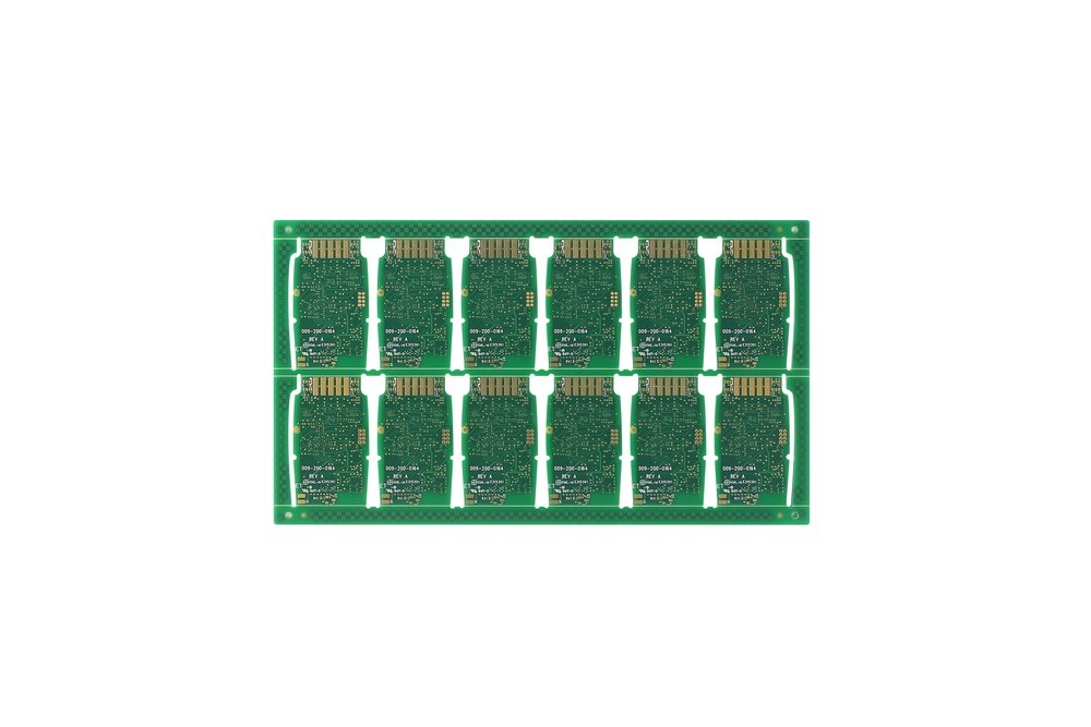 Immersion Gold & Gold Finger 6 Lay 1oz PCB